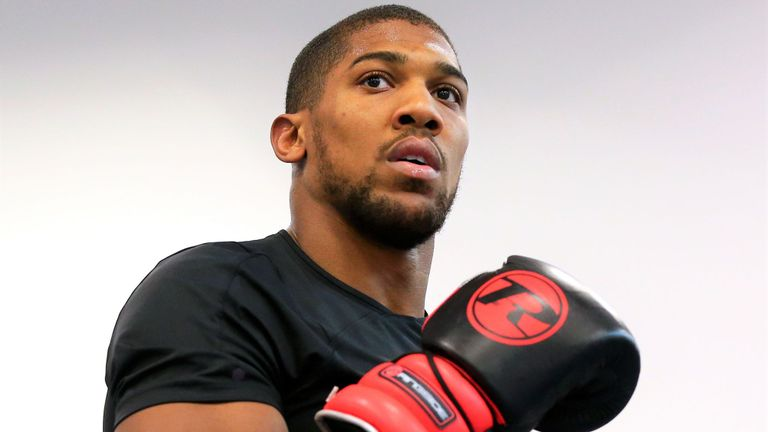 Anthony Joshua Commends