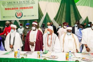 Fayemi at Arewa@50 Lecture Insists 'Only' Restructuring Can Cement Nigeria's Unity
