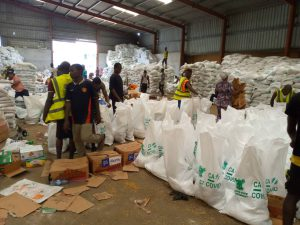 Hoodlums loot COVID-19 palliatives warehouse in Cross River