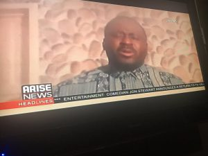 I am completely with the youths and the #EndSARS movement – Desmond Elliot says as he breaks down in tears on national TV
