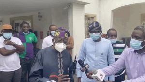 Lekki Shootings: Tinubu Makes First Public Appearance, Condoles with Sanwo-Olu