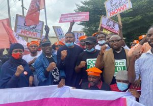 Nigeria @60: Sowore, Yesufu, others stage peaceful protest in Abuja
