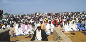 Photos Of Zamfara Residents Praying Over Incessant Bandit Attacks And Killings
