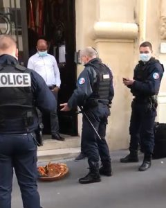 "Police stunned after finding ""sacrifice"" in front of Nigerian embassy in France (Video)"