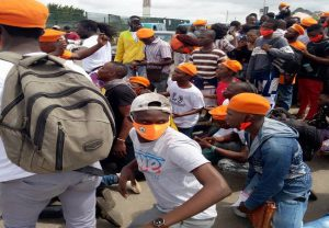#RevolutionNow: DSS intercepts protest, about five brutalised in Osun