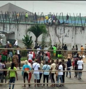 """Those INMATES in Benin were ILLEGALLY released by authorities"" – Tacha"