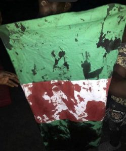 UPDATE | #EndSARS: Men in Military Fatigues Reportedly Open Fire on Protesters in Lagos