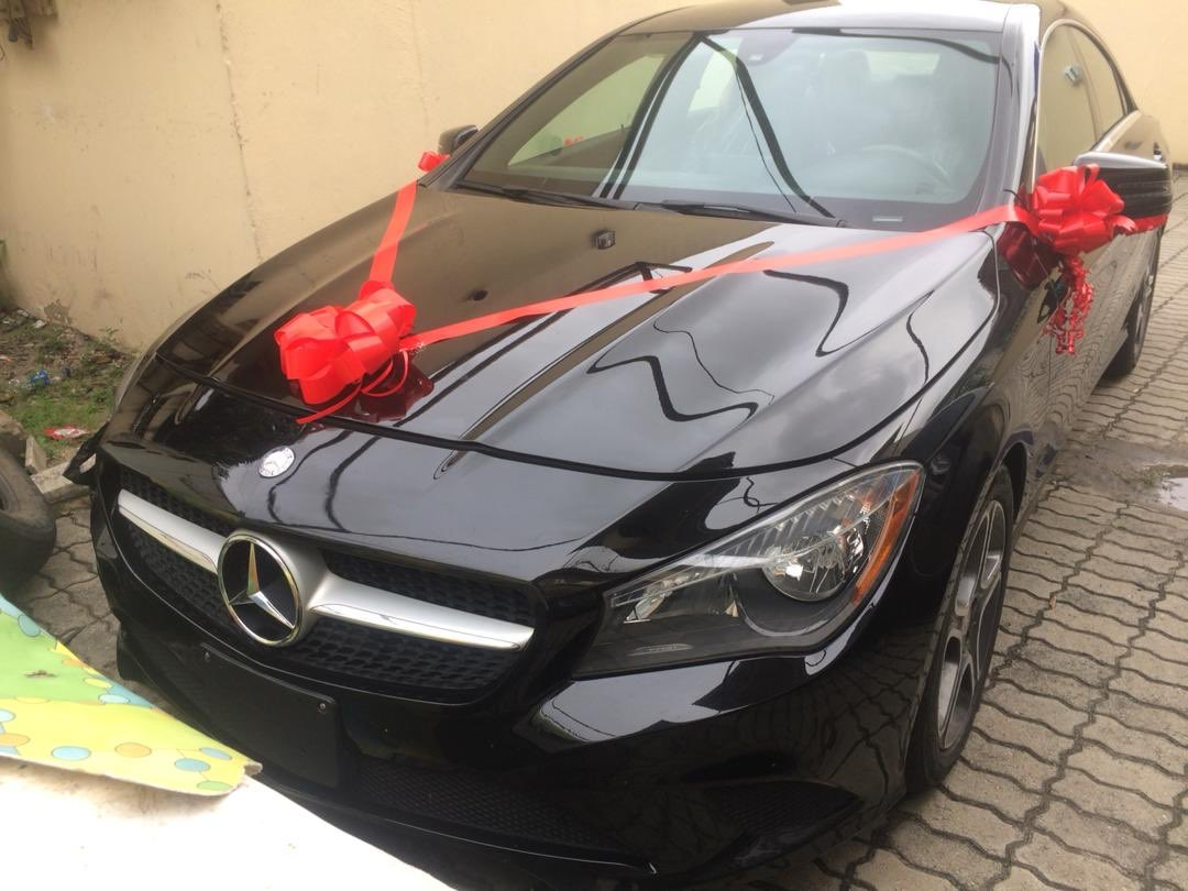 Dorathy receives Mercedes Benz