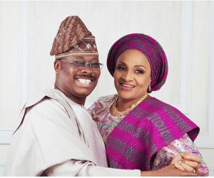 Florence Ajimobi shares emotional video as she celebrates 40th wedding anniversary with late husband (Video)