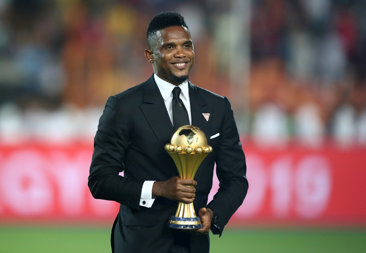 samuel eto o hospitalized