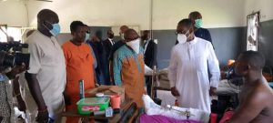 Okowa foots medical bills of injured vigilante members in Ughelli