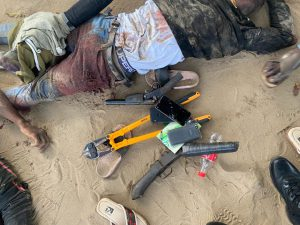 Soldiers kill 4 suspected armed robbers, others flee in Delta