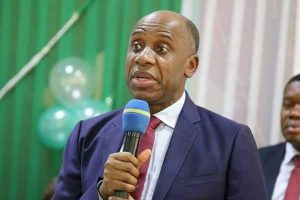 """We Have To Go After The Hoodlums And Ensure They Pay"" – Rotimi Amaechi Reacts After Visiting Burnt NPA Headquarters"