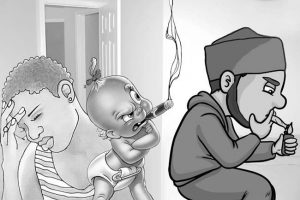 Our 1-yr-old child imitates my husband who takes gin, smoke Indian hemp —Wife