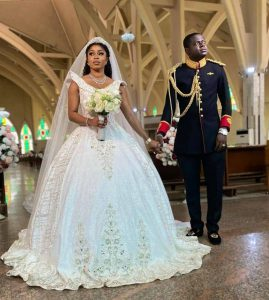 Photos and videos from the wedding of luxury designer, Malivelihood and Deola Smart