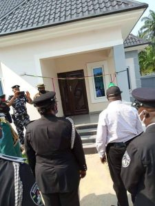 Abia's Ikpeazu presents 2 new houses as official quarters to Security Chiefs