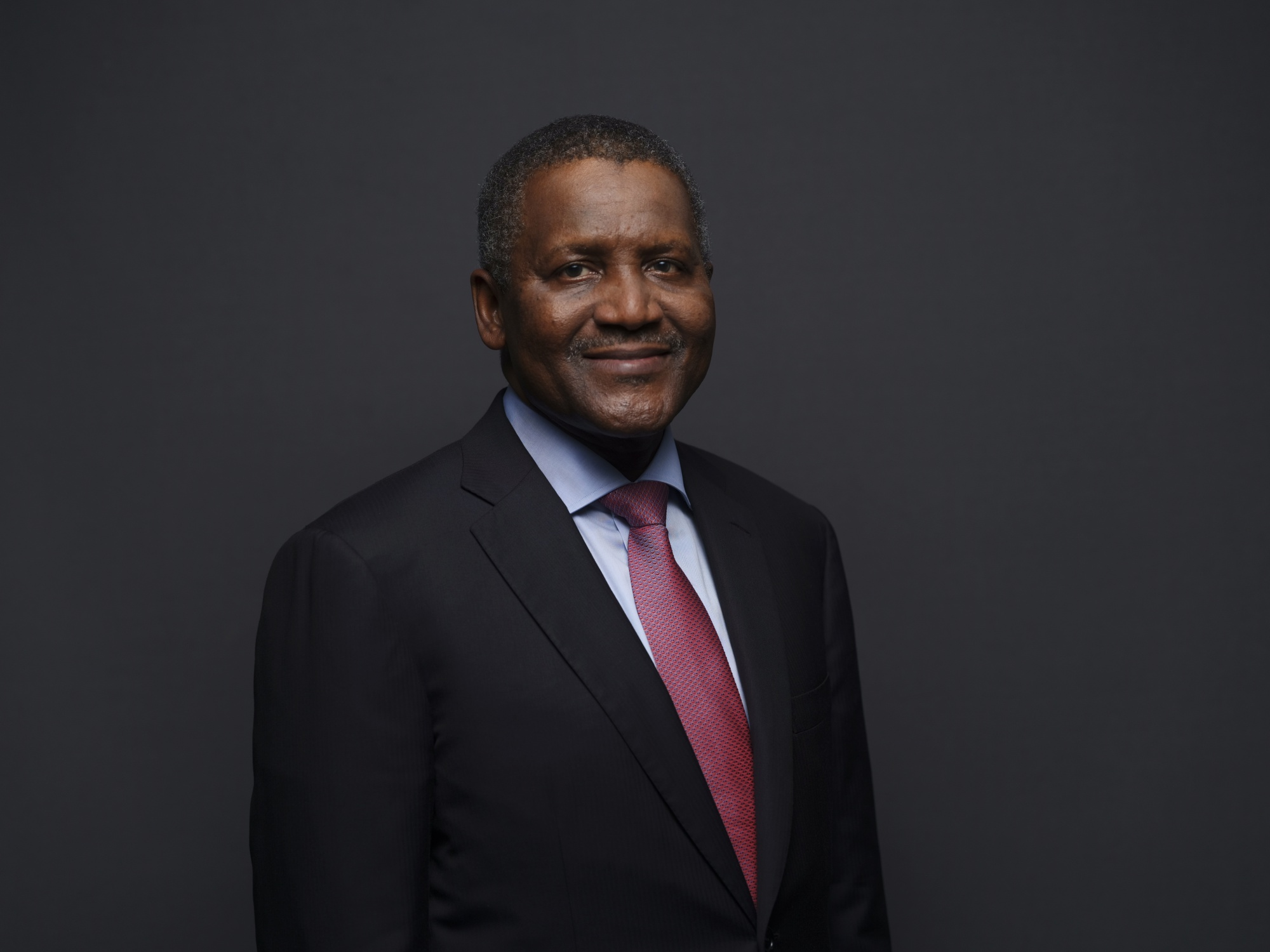 Aliko Dangote side chick
