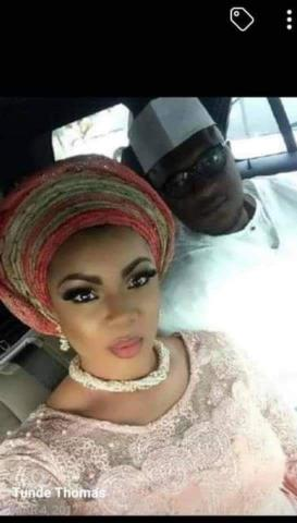 Late Tunde Thomas and the wife the betrayed him