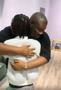 Heartwarming moment BBNaija's Laycon meets Don Jazzy for the first time (Video)