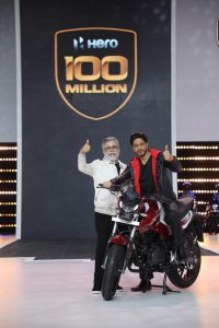 HERO MOTOCORP surpasses monumental 100 million cumulative production milestone
