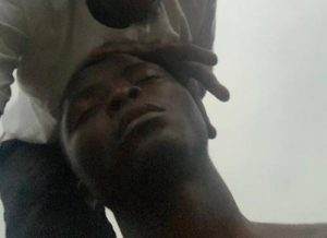 Lagos Police Officer Tortures UNILAG Student To Coma Over Number Plate (Photos)