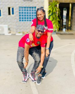 """Meeting you on Facebook wasn't a mistake"" – Actor Junior Pope celebrates his wife on her birthday"