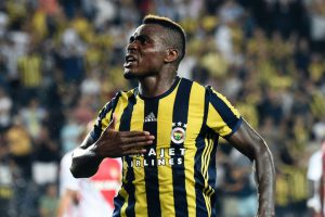 """Never stop trying"" – Footballer, Emmanuel Emenike motivates fans with throwback photo"
