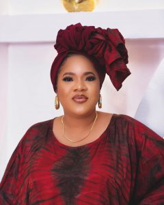 Nigerians react as video of Toyin Abraham exchanging words with 'area boys' surfaces