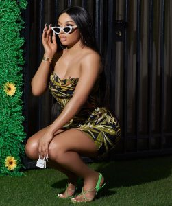 Toke Makinwa replies troll who said her current man is only with her for the sexual benefits