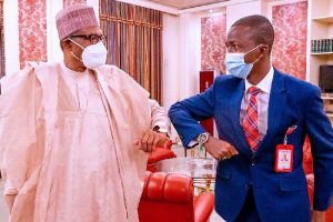 Buhari, new EFCC boss meet in Aso Rock
