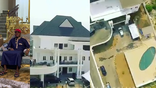 Footballer, Emenike shows off his house