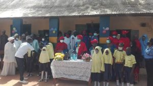 Police officers' wives renovate classrooms, donate materials to school in Kebbi