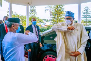 BREAKING: Buhari, Osinbajo get vaccinated against COVID-19