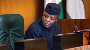 BREAKING: Osinbajo receives COVID-19 vaccine
