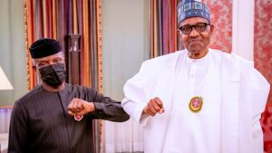 Buhari celebrates VP Osinbajo at 64, describes him as reliable, dedicated deputy