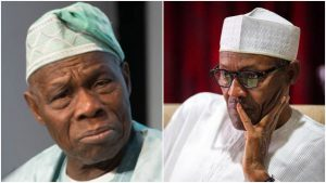 Buhari sends Obasanjo belated birthday message