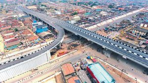 Easing traffic congestion via construction of roads, flyovers