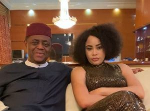 Fani-Kayode hits back at estranged wife, claims she's a danger to their children