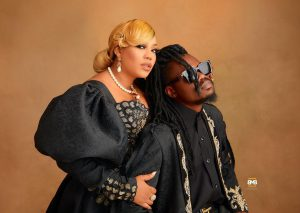 """My choice comes with peace of mind"" – Toyin Lawani releases pre-wedding photos with her man, Segun Adebayo"