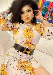 "Bobrisky denies maltreating and assaulting his ""adopted"" Ivorian daughter who drew a tattoo of his name on her body (WATCH)"