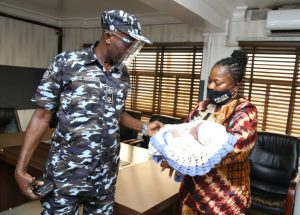 Police rescue abandoned one-month-old baby in Lagos