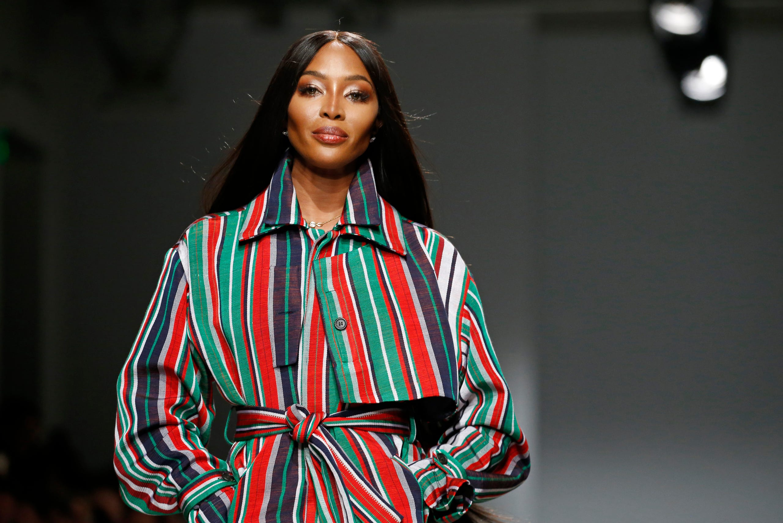 Naomi Campbell welcomes