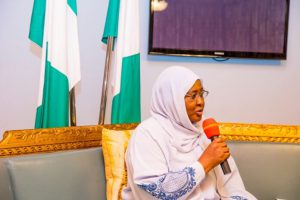 Aisha Buhari charges Wives of Service Chiefs