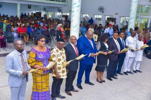 Ikpeazu swears in 10 new Permanent Secretaries in Abia, charges them on equity