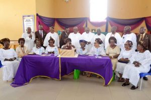 Osoba emphasises need for alma mater to support government in rebuilding schools