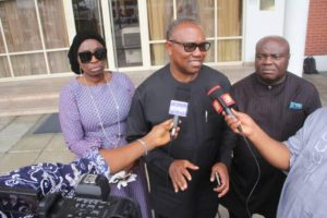 Peter Obi calls for collective prayers for Nigeria