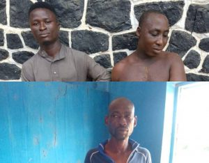 Three arrested for land grabbing, robbery in Ogun