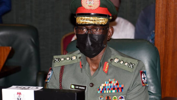 Chief of Defence Staff, Gen. Lucky Irabor.