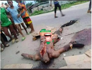 Cultists Behead Vigilante Leader In Rivers After Bullets Didn't Penetrate (Graphic)