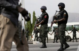 Gallantry personnel of Nigeria Police Force.